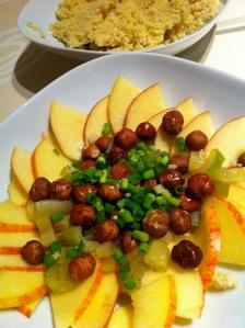 appel-noot salade